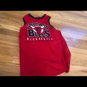 Long Forever 21 Chicago Bulls jersey